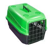 Caixa de Transporte para PET Gato Cachorro Número 3 Verde - Mecpet