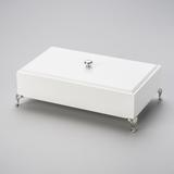 Caixa Decorativa Branca - Woodart