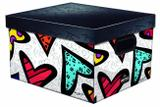Caixa Organizadora Pequena Romero Britto Modelo 3 - Dello