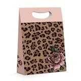 Caixa P/Presente Estampa Leopardo G 26X11X40 - Cromus