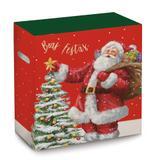 Caixa Para Cesta De Natal Noite Magica 30x19x38 Com 1 Peça - Cromus