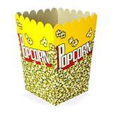 Caixa para Pipoca c/10 unidades - Cromus festas