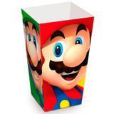 Caixa para Pipoca Super Mario Bros 10 unidades - Cromus