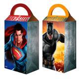 Caixa Surpresa Batman Vs Superman 08 unidades Festcolor