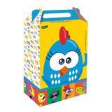 Caixa Surpresa Galinha Pintadinha Mini 8 unidades Festcolor - Festabox