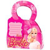 Caixa Surpresa para Lembrancinha Barbie Core 08 unidades Regina Festas