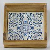 Caixote Rústico com Azulejo Lisboa - Casa del grande
