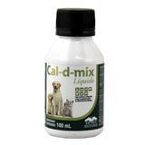 Cal-d-mix Suplemento Cálcio 100ml - Vetnil
