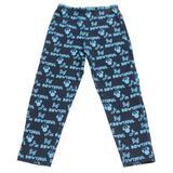 Calça Legging em Cotton - Marinho e Turquesa - Super Minnie - Disney