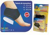 Calcanheira Pauher Support Com Amortecedor De Silicone Preto M Bilateral Par 1021 - Orthopauher