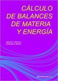 Cálculo de Balances de Materia Y Energía - Reverté