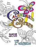 Calendario da Colorare 2018 Farfalle - Gumdrop press