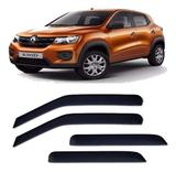 Calha De Chuva Renault Kwid 2017 2018 4 Portas
