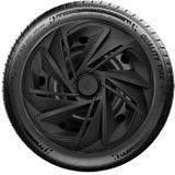 Calota aro 13 Elitte para Celta Gol Palio Uno. Universal Preto Fosco linha Nitro   -   Lc213 - Elitte calotas