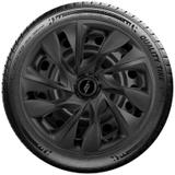 Calota Elitte para Sandero Gol Fox Logan Onix... Aro 15 Mod. Universal DS4 Preta  Fosca linha Unicolor  -  LC363 - Elitte calotas