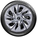 Calota Elitte para Sandero Gol Fox Logan Onix... Aro 15 Mod. Universal Silver Cup linha DS4  -  E5102 - Elitte calotas