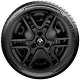 Calota Mod. Original Preto Aro 14 Renault Kwid 2017 2018 G877Pf
