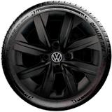 Calota Preto Fosco VW UP Novo Gol G7 2019 Aro 14 G249PF - Grid