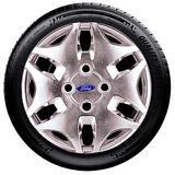 Calota Rep. De Roda Cromada Aro 13 Ford Fiesta Ka Escort Santo Andre - Abc - Sp P449Mt - Podium calotas