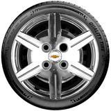 Calota Rep. de Roda Cromada Chevrolet GM Corsa Celta Classic Wind Aro 13 Santo Andre - ABC - SP p391mt - Podium calotas
