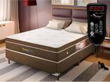Cama Box Magnético Casal Privilege Dream com massagem Bio Quântica (Colchão + Box) - Golddream