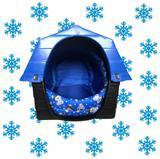 Cama Casinha Acolchoada N2 Cachorro Plástico Casa Caminha - Rb