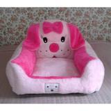 Cama Para Cachorro Pelúcia Rosa Com Pink G - Linha avulsa enxovais