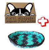 Cama Pet Cão Cães Gatos Tam P Caminha Cachorro + Caixa Surpr - Bom amigo pet