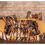 Cama Pet Grande Deccoralle - Zebra Mostarda - Comfort pet
