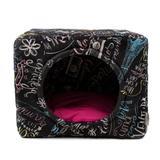 Cama Toca Pet Cachorro Gato Premium 2 em 1 - P - Lousa Pink - Senhor bicho