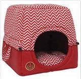 Cama Túnel Toca Florence Para Cães M Vermelha - São Pet