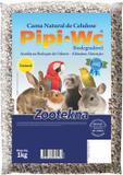 Cama Zootekna Pipipet Natural Roedores - Pipi WC Natural 1Kg