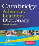 Cambridge Advanced Learners Dictionary - With Cd-rom - 04 Ed