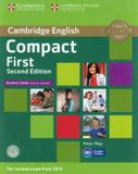 Cambridge english compact first sb without answers with cd-rom - 2nd ed - Cambridge university