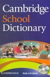 Cambridge school dictionary with cd-rom - Cambridge university
