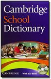 Cambridge school dictionary with cd-rom paperback