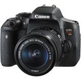 Câmera Canon DSLR EOS Rebel T6i kit 18-55mm