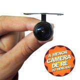 Câmera De Ré Micro Colorida Com Grade De Distância, Suporte Borboleta E Visão Noturna Universal - Morgadosp