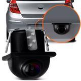 Câmera Tartaruga Dupla Função Ré e Frontal - Universal - H-tech