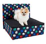 Caminha Box Pet + Cabeceira Luxo Cachorro e Gato - Bf
