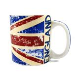 Caneca Bandeira Da Inglaterra 300ml - Rockcine