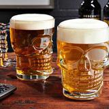Caneca Caveira De Vidro Viking Choop Cerveja Festa Bar 500ml - Place