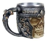 Caneca Caveira medieval estilo Viking - Shop everest