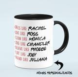 Caneca Da Série Friends Com Nomes Personalizados Pb - Jps info