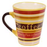 Caneca De Cerâmica Caboclo 300ml - Coffee Amarela - Yangzi