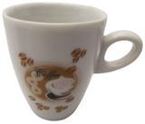 """Caneca em Cerâmica para Café/cappuccino """"coffe Grãos"""" Koisas de Kozinha - 150 Ml"""
