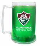 Caneca Gel Verde 400ml Escudo - Fluminense