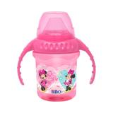 Caneca lillo disney com bebedor de silicone - minnie 230ml