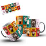 Caneca Personagens Harry Potter - Oops!