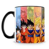 Caneca Personalizada Dragon Ball Goku (Preta) - Amocanecas